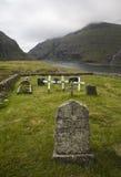 Pietre tombali nella natura fotografia stock libera da diritti