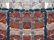 Pietre variopinte di bella forma differente, Lituania immagini stock