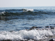 Pietre in Wave Immagini Stock Libere da Diritti