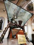 Pietrelcina - Overblijfsel van San Pio stock afbeelding