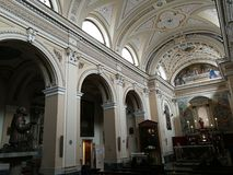 Free Pietrelcina - View Of The Nave Of The Sanctuary Royalty Free Stock Photo - 112931385