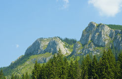 Pietrele Albe mountains Royalty Free Stock Image
