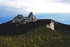 Pietrele Doamnei en las montañas de Rarau, Rumania Imagen de archivo
