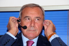 Pietro Grasso Royalty Free Stock Photography