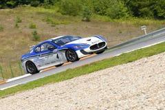 Pietro Zumerle nell'azione alla FIA WTCC il Trofeo fotografie stock