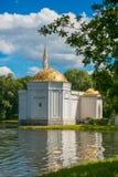 Pietroburgo, Russia - 29 giugno 2017: Padiglione del bagno turco sopra in Tsarskoye Selo Pushkin, StPetersburg, Russia Immagine Stock
