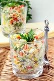 pietruszek warzywa ryżowi sałatkowi fotografia stock