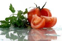 pietruszka pomidor Zdjęcia Royalty Free
