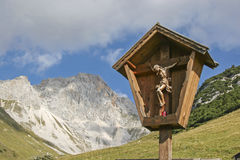 Piety in the mountains Stock Photography