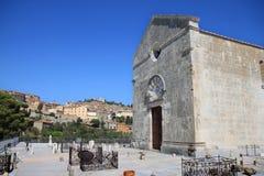 Pieve二圣乔凡尼, Campiglia Marittima,意大利 免版税库存图片