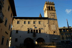 Pieve in Cadore Royalty Free Stock Photography
