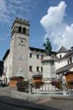 Pieve Di Cadore, Italië Stock Foto's
