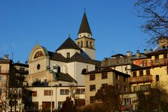 Pieve di Cadore Stock Images