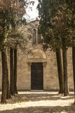 Pieve di Cellole (Tuscany) Stock Photo