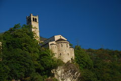 Pieve San Siro, Capo di Ponte, Valle Camonica Stock Photography