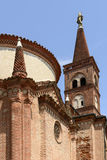 Pieve Santa Maria Assunta bell tower, Soncino Stock Photography