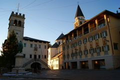 Pieve Square Royalty Free Stock Images