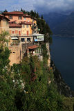 Pieve Tremosine. In the Gardasee in Italy Royalty Free Stock Photography