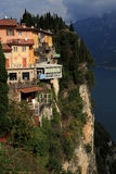 Pieve Tremosine. Old Town about the Gardasee Royalty Free Stock Images