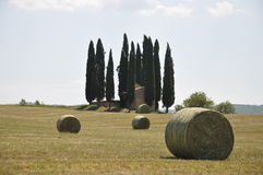 Pieve in Tuscany Royalty Free Stock Images