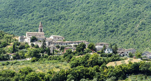 Pievefavera (Marches, Italy) Royalty Free Stock Photography