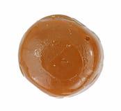 Pieza única del caramelo duro condimentado café Fotos de archivo libres de regalías