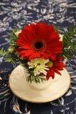 Pieza central de la flor Fotografía de archivo libre de regalías