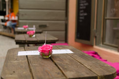 Pieza central de la flor del café Imágenes de archivo libres de regalías