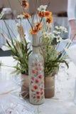 Pieza central floral Foto de archivo libre de regalías