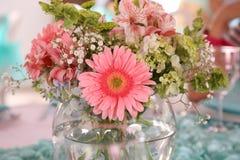 Pieza central floral Imagenes de archivo