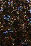 Pieza de árboles de navidad brillantes hermosos Fotos de archivo libres de regalías