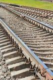Pieza de ferrocarriles Fotos de archivo libres de regalías