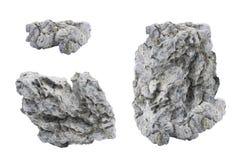 Pieza de Gray Stones 1 Fotografía de archivo