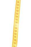 Pieza de la cinta de medición Foto de archivo