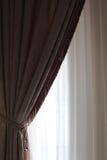 Pieza de la cortina Foto de archivo