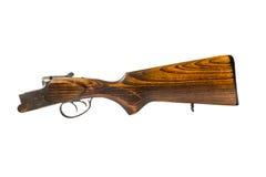 Pieza de la escopeta de la caza en el fondo blanco Fotos de archivo