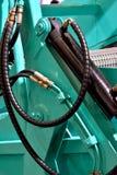 Pieza de la máquina de la limpieza de la playa Foto de archivo libre de regalías