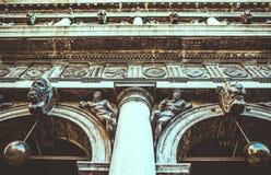 Pieza de la pared antigua vieja imagen de archivo libre de regalías