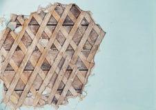 Pieza de la pared vieja Imagen de archivo libre de regalías