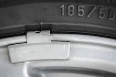 Pieza de la rueda de coche fotos de archivo