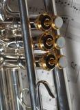 Pieza de la trompeta Foto de archivo libre de regalías