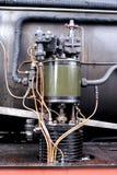 Pieza de un motor de vapor Foto de archivo libre de regalías