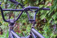 Pieza de una bicicleta de BMX imagenes de archivo