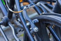 Pieza de una bicicleta de BMX fotos de archivo