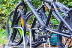 Pieza de una bicicleta de BMX fotografía de archivo