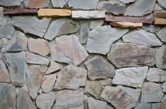 Pieza de una pared de piedra fotos de archivo libres de regalías