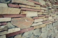Pieza de una pared de piedra imágenes de archivo libres de regalías