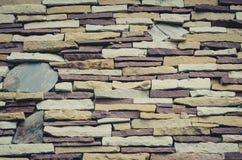 Pieza de una pared de piedra fotos de archivo