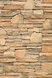 Pieza de una pared de piedra, para el fondo o la textura Fotografía de archivo libre de regalías