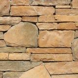 Pieza de una pared de piedra, para el fondo o la textura Imagen de archivo